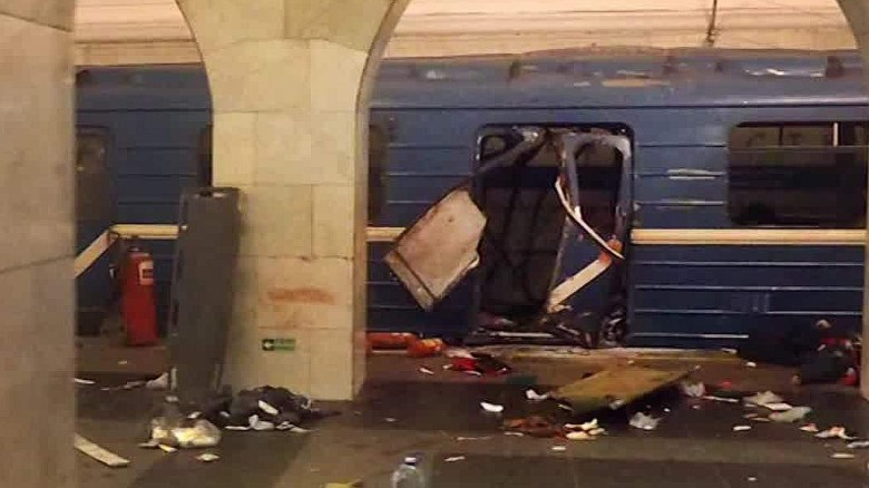 Arrests linked to deadly attack on St. Petersburg subway