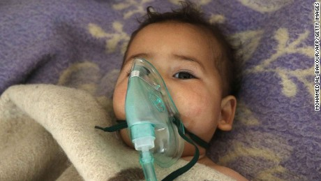 US officials: Early belief is that Syrian attack used sarin gas