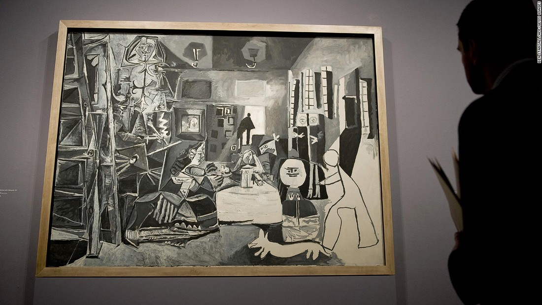 "<strong>Las Meninas (after Velazquez), 1957: </strong>Barcelona's Museu Picasso has the complete series of Picasso's ""Las Meninas"" works. <br /><strong><br /> </strong>"