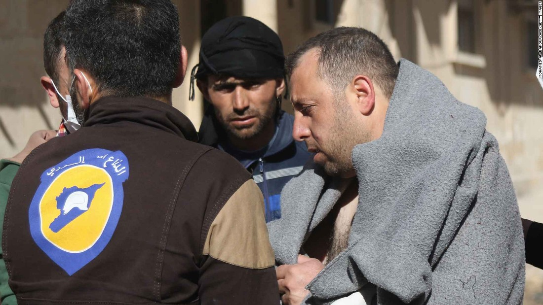Syria gas attack reportedly kills dozens