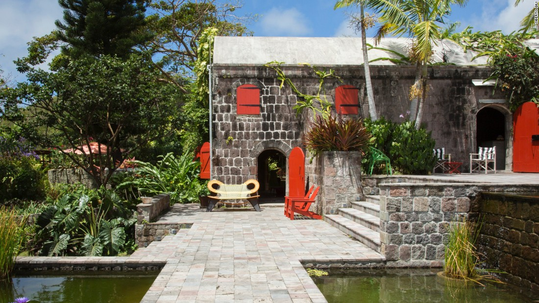 <strong>Golden Rock Inn</strong> -- The picturesque Golden Rock Inn sits on the slopes of Nevis Peak.