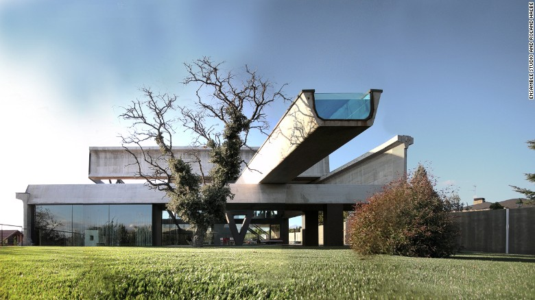 The Spectacular Homes Architects Build For Themselves Cnn Style
