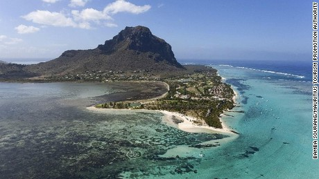 A haven for escaped slaves: Le Morne.