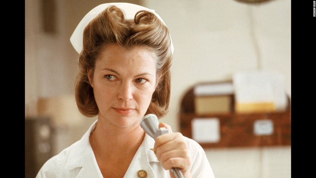 "Louise Fletcher won an Oscar for her portrayal of the cruel Nurse Ratched in ""One Flew Over the Cuckoo's Nest."""