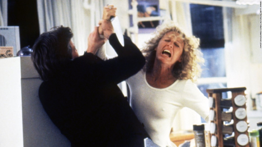 "Glenn Close was nominated for an Oscar for her role as Alex Forrest, who develops a ""Fatal Attraction"" to a married man with whom she has an affair."