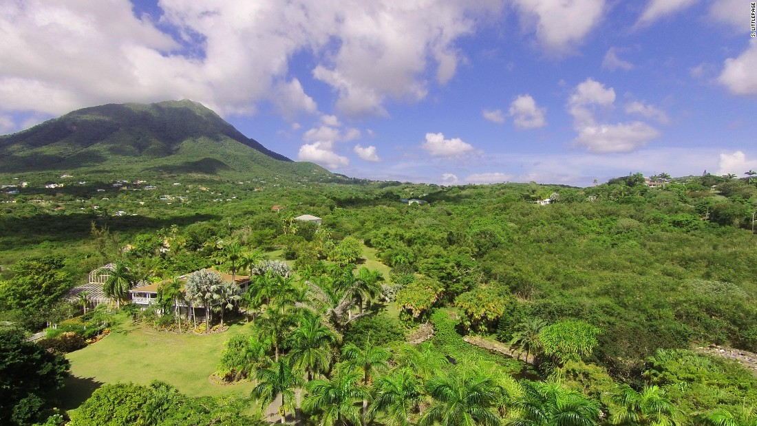 <strong>Botanical Gardens of Nevis</strong> -- Tropical fruit, orchids and flowering vines all grow in this five-acre garden.