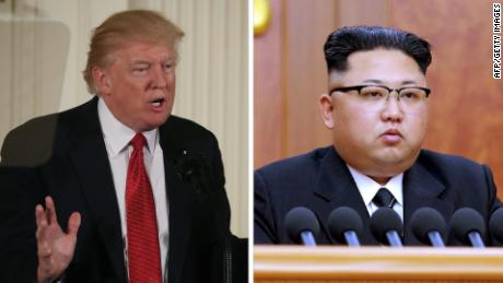 Trump's fiery rhetoric plays into Kim's hands
