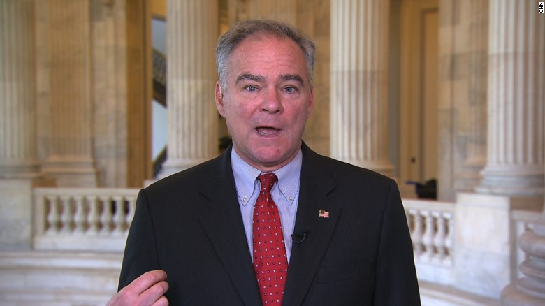 Kaine: Trump trying to stay cozy with Russia