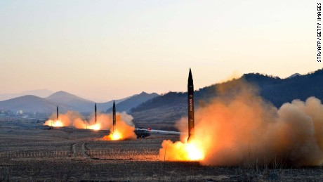 Japan PM: NKorea may be capable of sarin-loaded missiles