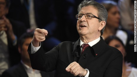 Jean-Luc Mélenchon was on form once again, providing another impressive performance.