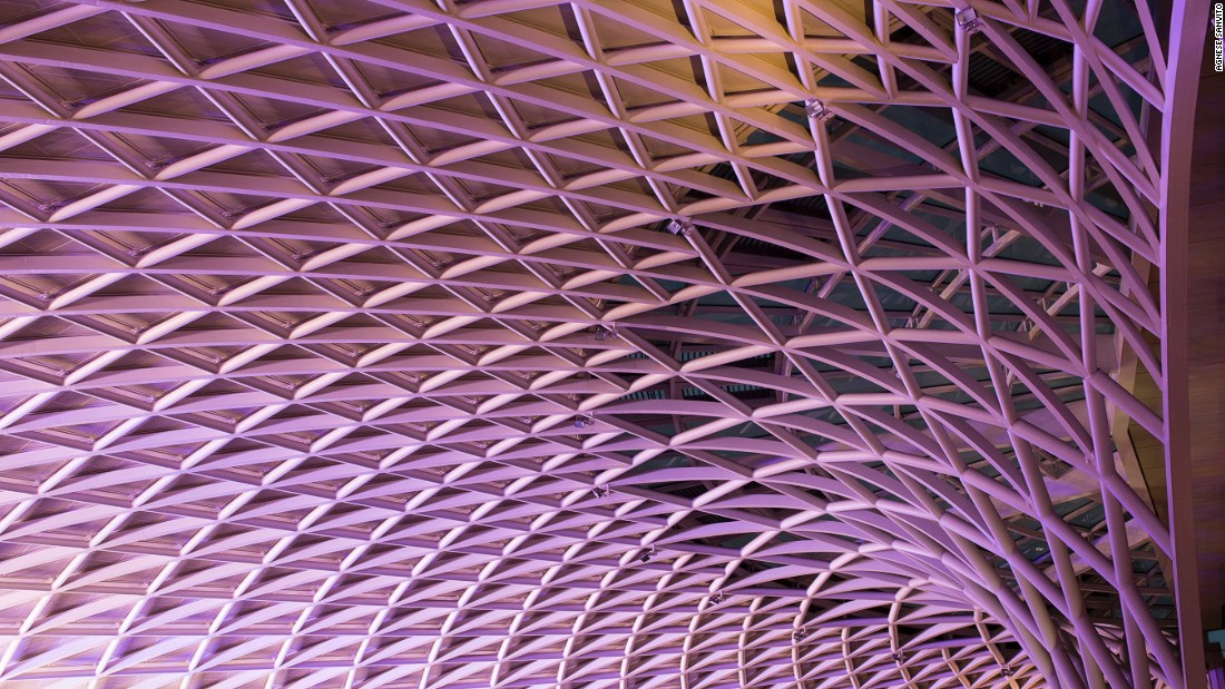 "<a href=""http://www.mcaslan.co.uk/"" target=""_blank"">John McAslan</a> transformed London's King's Cross Station by removing the tunnel-like glass roof and adding a bow-shaped, 81,000-square-foot Western Concourse with a steel canopy."