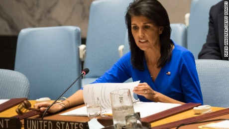 Haley threatens 'our own action' in Syria if UN doesn't act