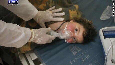 How a chemical attack in Syria unfolded