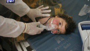 From airstrike to aftermath: How a chemical attack in Syria unfolded