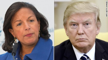 Offering no evidence, Trump suggests Susan Rice unmasking requests may be criminal