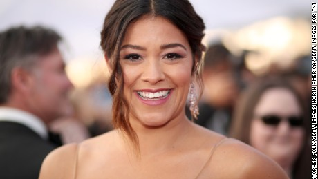 Actress Gina Rodriguez attends The 23rd Annual Screen Actors Guild Awards at The Shrine Auditorium on January 29, 2017 in Los Angeles, California.