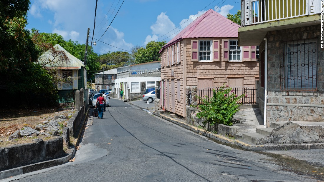 <strong>Charlestown </strong>-- With a population of about 1,500, Charlestown is the capital of Nevis.