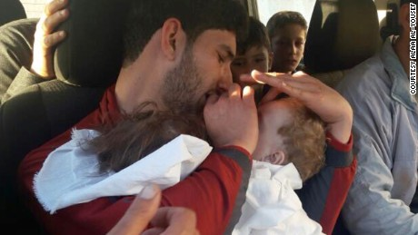 01 Syrian man says 25 relatives dead