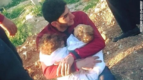 Syrian man loses 25 relatives: 'My entire family's gone'