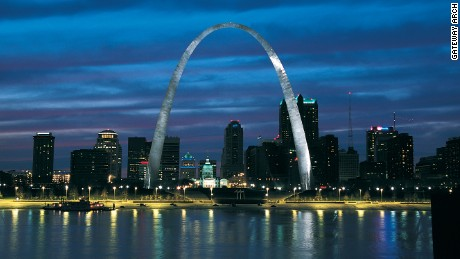 Gateway Arch in Missouri