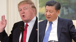 What will be discussed when Trump and Xi meet?