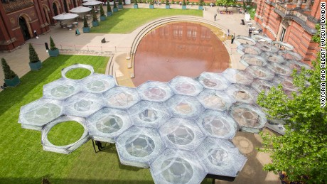 Elytra Filamen Pavilion in London