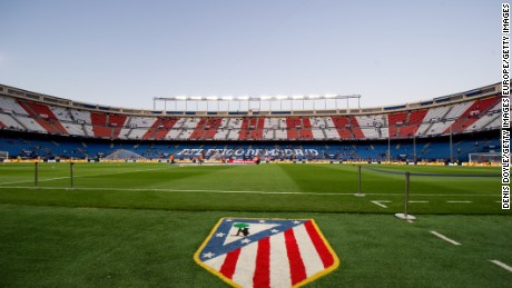 MADRID, SPAIN - APRIL 04:  General view of Vicente Calderon Stadium ahead of the La Liga match between Club Atletico de Madrid and Real Sociedad de Futbol at Vicente Calderon Stadium on April 4, 2017 in Madrid, Spain.  (Photo by Denis Doyle/Getty Images)