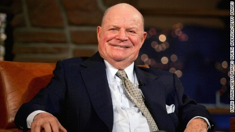 Comedian Don Rickles' memorable barbs