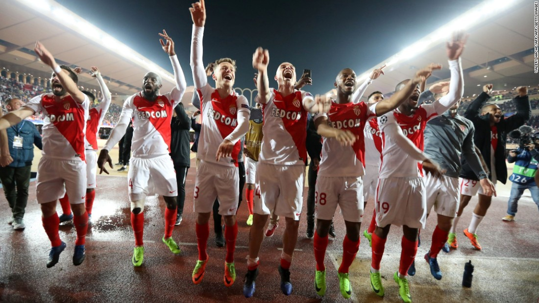 Monaco has also enjoyed a fine run of form in the Champions League. A thrilling last-16 tie against Manchester City ended 6-6, with the French side going through on away goals. It was the sort of counter-attacking, high-scoring display that has come to define this side.