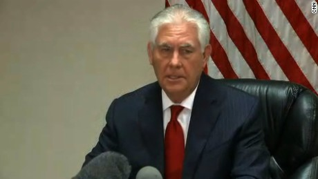 Tillerson: No change to Syria policy