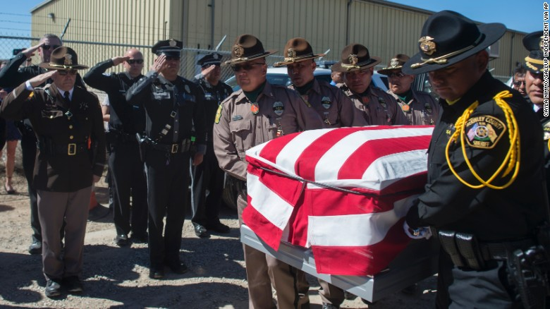 Navajo officer remembered for his bravery