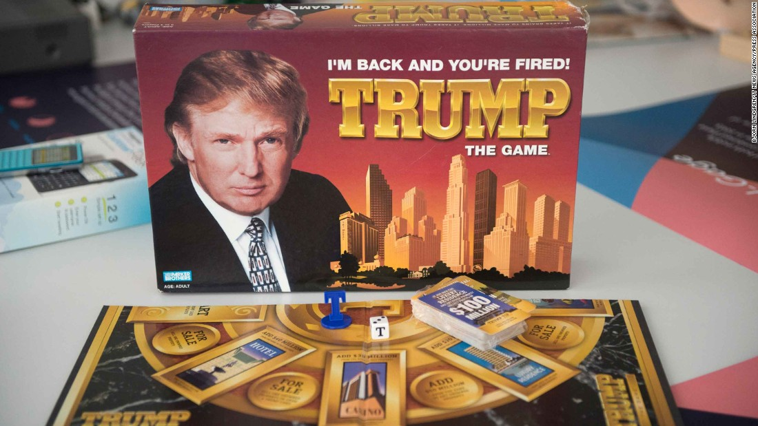 Trump: The Game was released in 1989, based on buying and selling properties. It will be on display in Sweden's Museum of Failure, which opens in June.