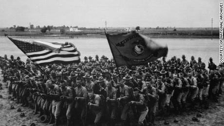 US Marines distinguished  themselves in World War I for their ferocity in combat. Some German soldiers thought they were maniacs.