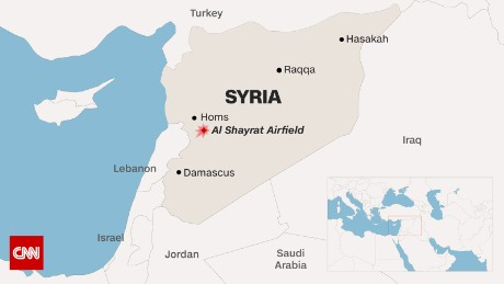 More Details Emerge Of Syria Military Strike