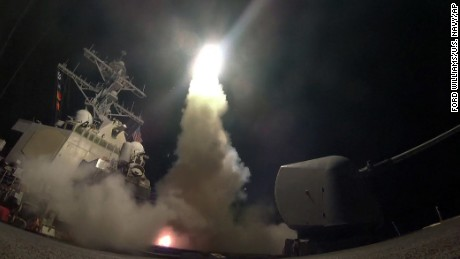 Trump's attack on Syria -- a decisive action, a good speech, but now what?