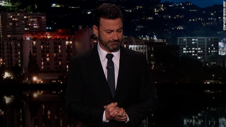 Jimmy Kimmel's chokes up talking about Rickles