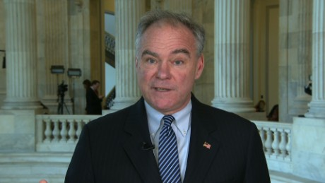Kaine: No legal justification for Syria strike