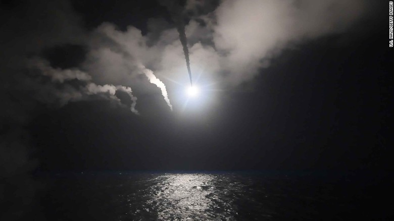 Trump orders military strike against Syria