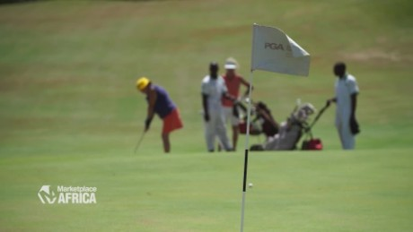 Marketplace Africa Boosting Kenya's tourism with golf B_00002624