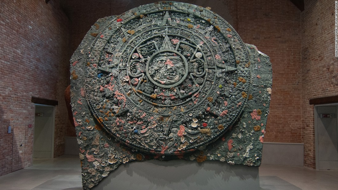 The ship was laden with treasures from Aztec, Inca, Ancient Egyptian, Roman cultures among others.