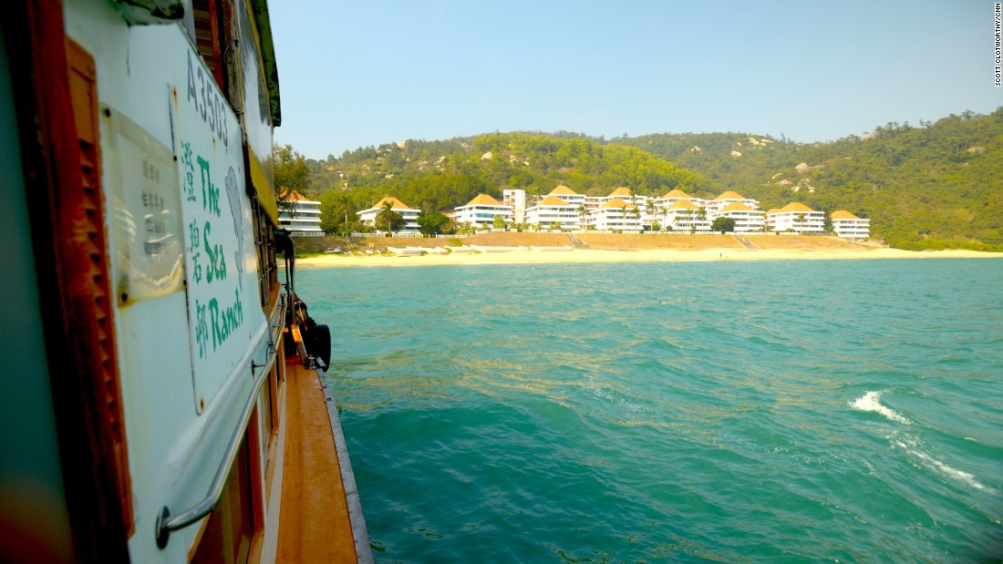 It no longer has a direct ferry link to Hong Kong Island. Instead, residents must take a ferry to neighboring island Cheung Chau. From there they catch another ferry to Hong Kong Island.