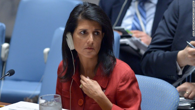 Haley: US was fully justified to strike Syria