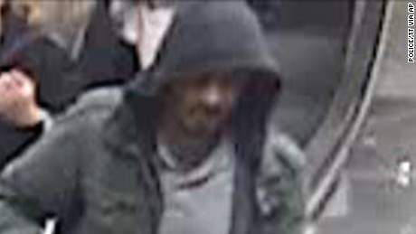 An image of a suspect released by police.