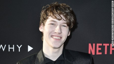 "Devin Druid plays Tyler Down in ""13 Reasons Why,"" the Netflix series based on Jay Asher's best-seller."
