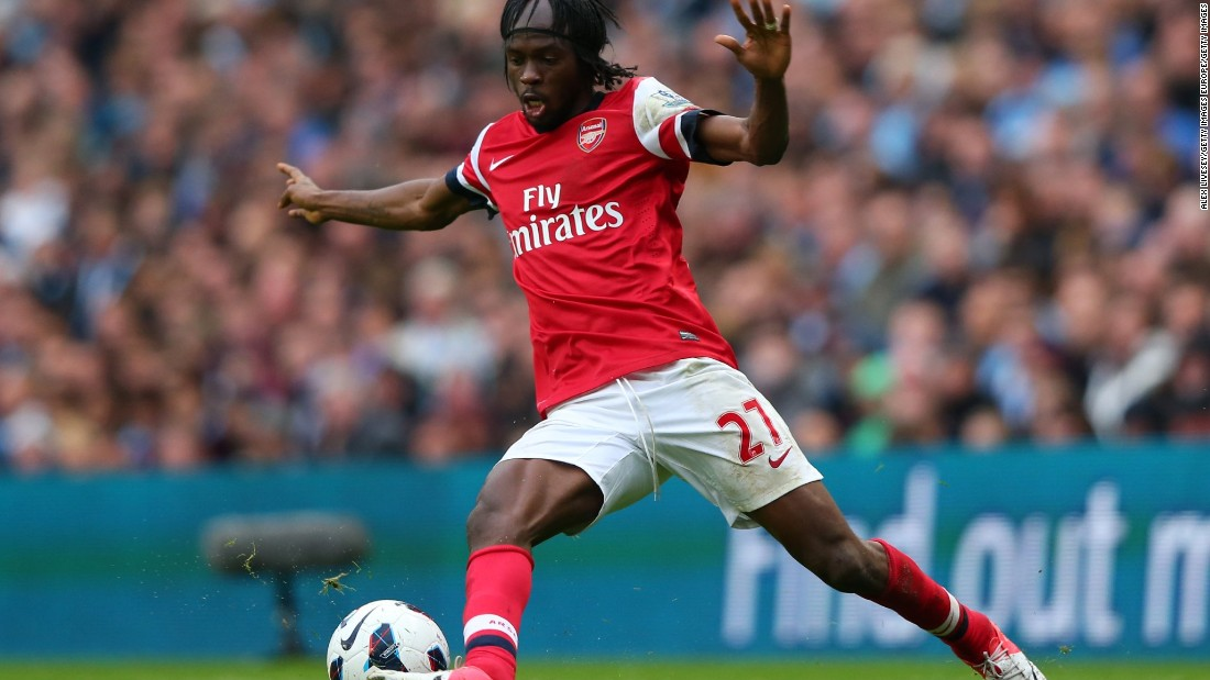 Known more for his flamboyant hair extensions than goal scoring prowess at the Emirates, Gervinho was purchased with great fanfare from Lille for £10.2 million in 2011. The Ivorian promptly drew a red card in his Premiership debut, and scored just nine goals in two seasons at Arsenal before being sold to AS Roma for £6.8 million two seasons later.