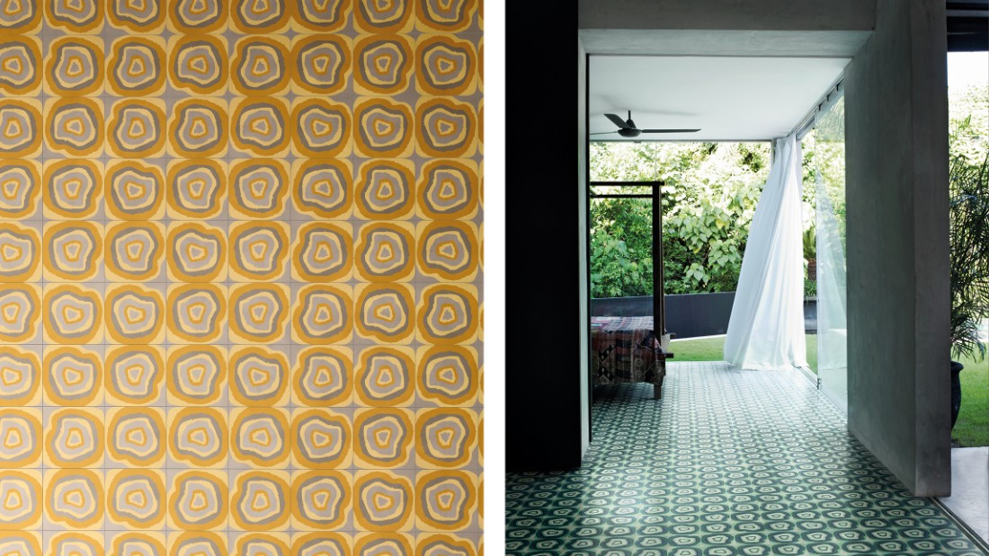 Bisazza Cementiles by the Campana Brothers