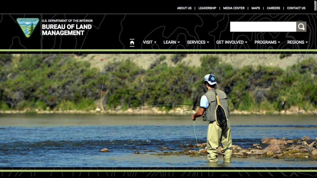 Interior agency 39 s website creates confusion outdoor shop for Bureau land management