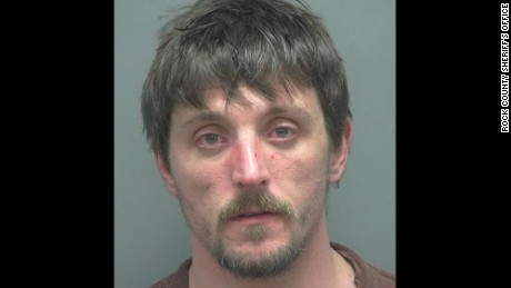 Joseph A. Jakubowski 32 allegedly robbed a gun shop in Janesville Wisconsin