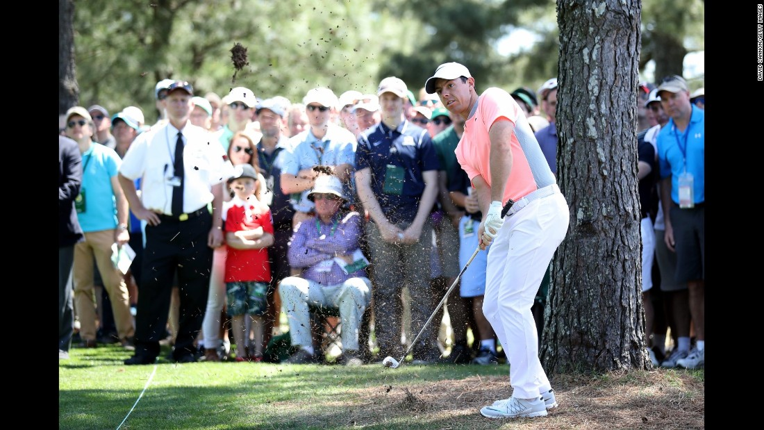 Rory McIlroy posted a fourth consecutive top 10 at the Masters but needs a win to complete the career grand slam of all four major titles.