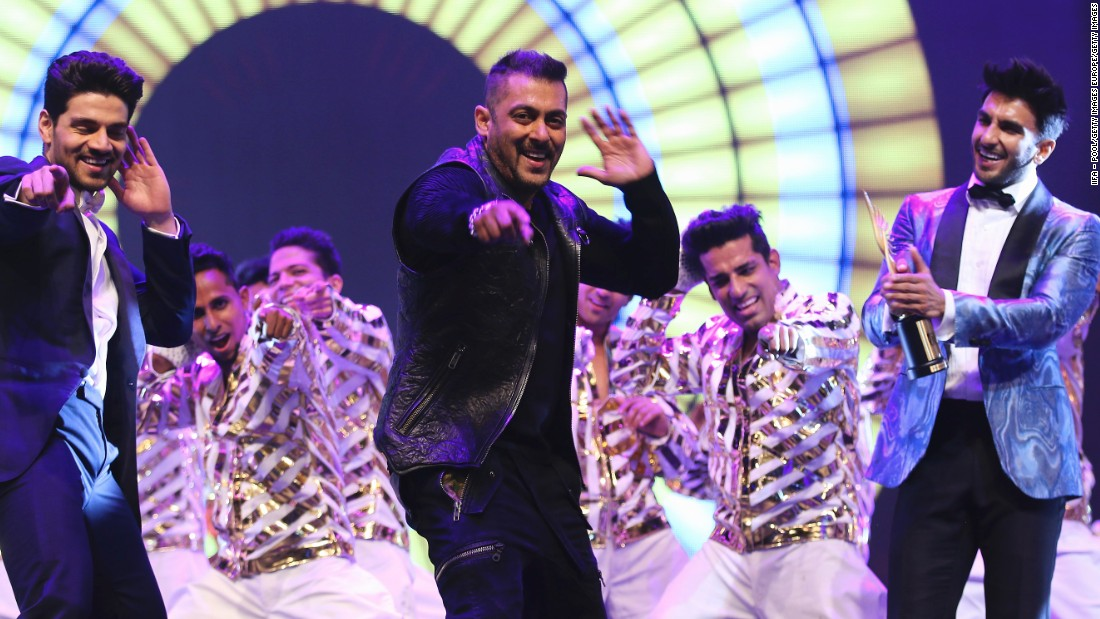 Salman Khan headlines the Da-Bangg show and has starred in more than 80 Hindu-language movies.